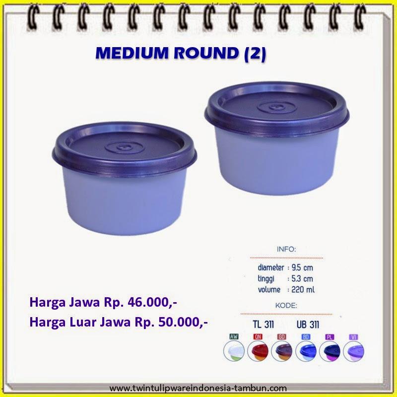 medium round tulipware 2013