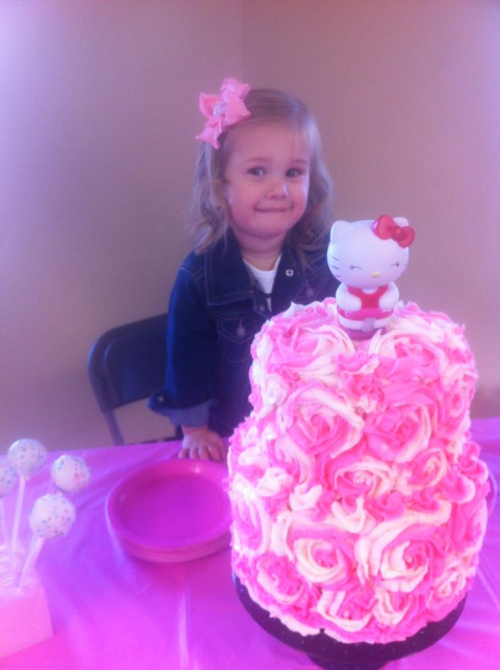The Simple Cake Hello Kitty Birthday Cake