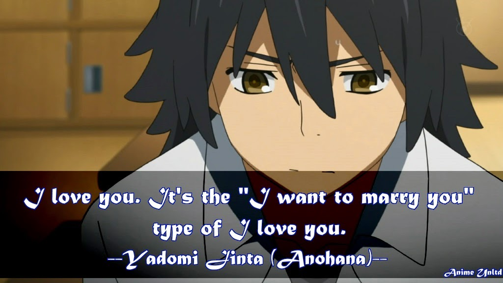 my anime review anohana quotes