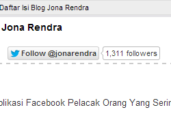 Follow Button JonaRendra