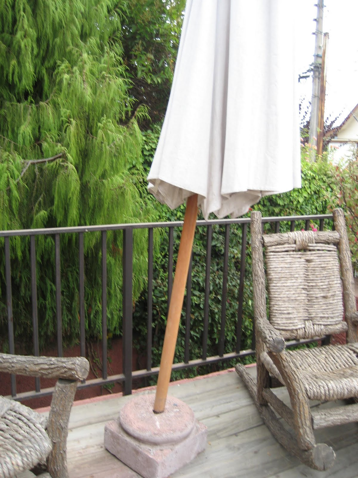 Articulos a la venta por poca plata quitasol grande de for Articulos terraza