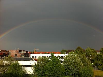 Regenbogen in Kiel