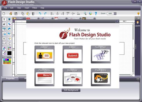 WebSmartz Flash Design Studio 3.0.0.0