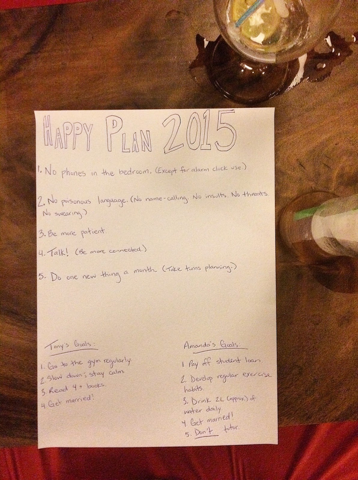 happy plan 2015.