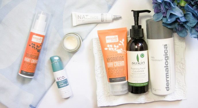 gentle skincare products for sensitive skin blog post