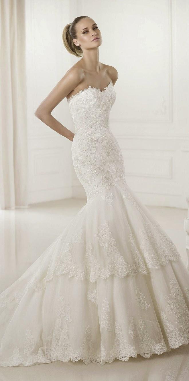 Pronovias 2015 bridal collections part 2 belle the for Pronovias wedding dresses price range