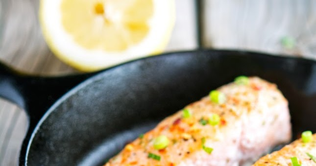Easy Ginger, Chili and Lemon Salmon
