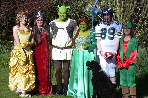shrek fiona cosplay wedding matrimonio a tema