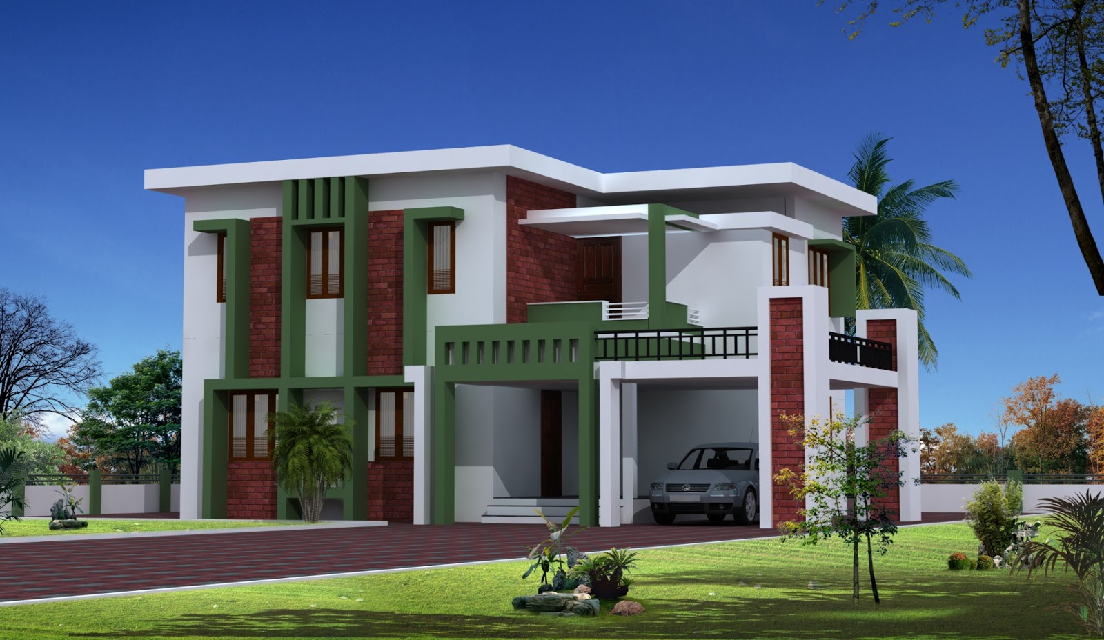 Build a building latest home designs for Latest model house design