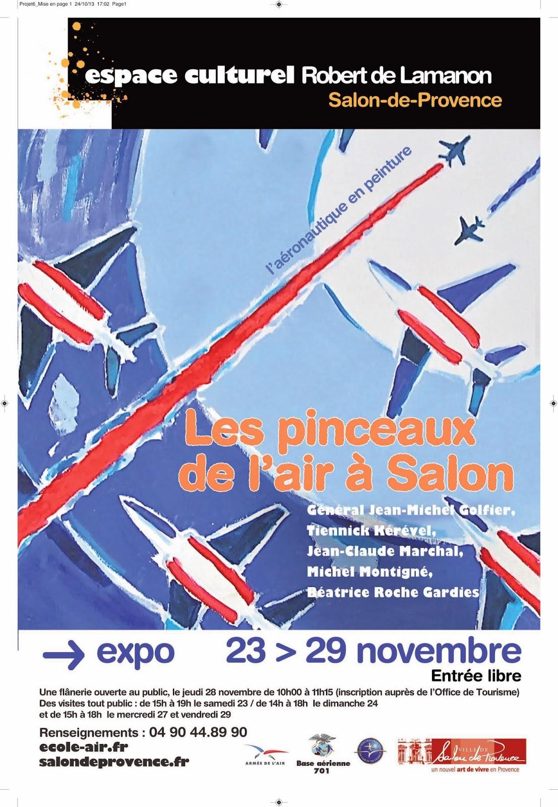 Les peintres de l 39 air - Ecole de l air de salon de provence ...