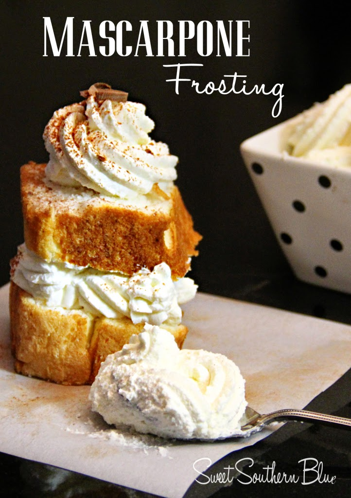 Mascarpone Frosting, shared by Sweet Southern Blue