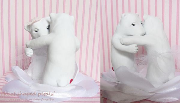 Wedding cake toppers bears