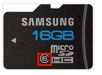 Use high class SD card in Android