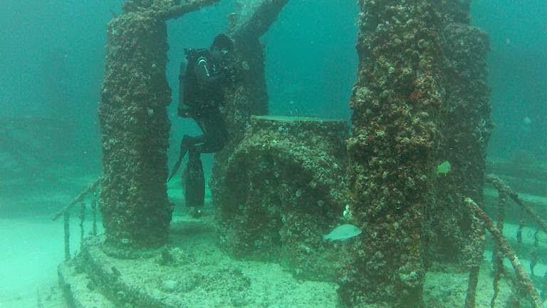 Nghĩa trang Neptune Memorial Reef - Mỹ