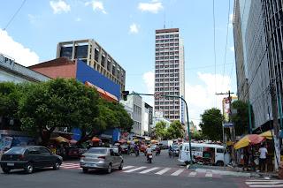 historia de manaus, amazonas - rua do centro
