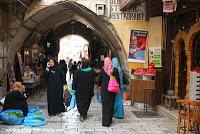 Moda musulmana en Jerusalén - Viaje a Israel