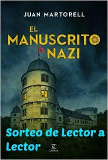 SORTEO EL MANUSCRITO NAZI - JUAN MARTORELL