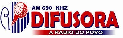 ouvir a Rádio Difusora AM 690,0 Ponta Grossa PR