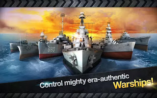 WARSHIP BATTLE:3D World War II 1.0.7 Mod Apk (Unlimited Money)