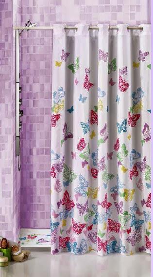 Decorar con cortinas y mucho m s cortinas de ba o - Cortinas para banera ...