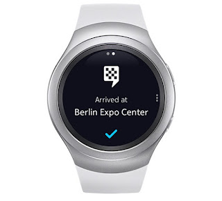 HERE for Gear app launched for Tizen-based SAMSUNG Gear S2 smartwatches