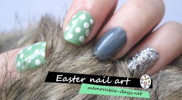 happy easter - nail art