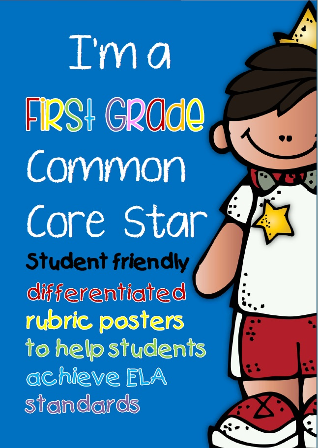 Common Core Posters and Checklists ELA