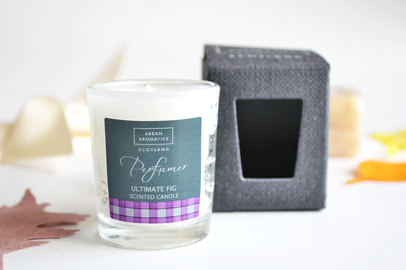 arran aromatics candle, fig candle