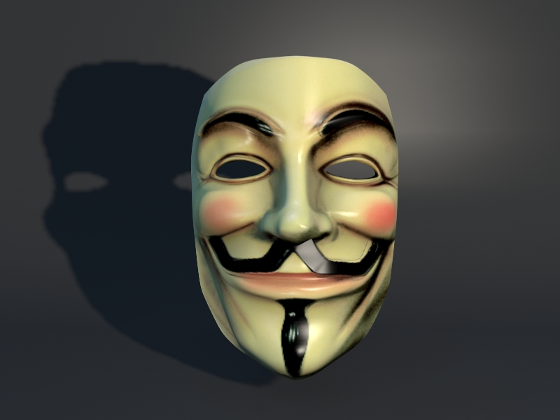 Luisk 3d anonymous mask 3d - Pictures of anonymous mask ...