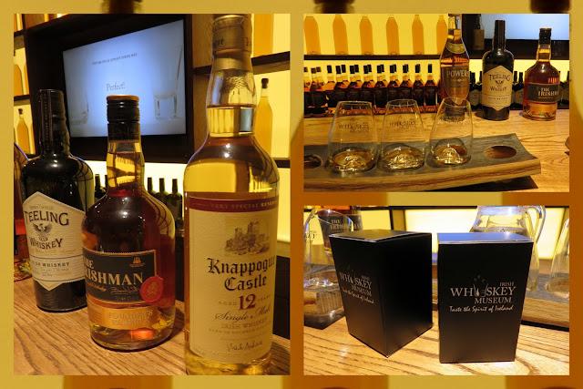 The Irish Whiskey Museum in Dublin - Tasting room