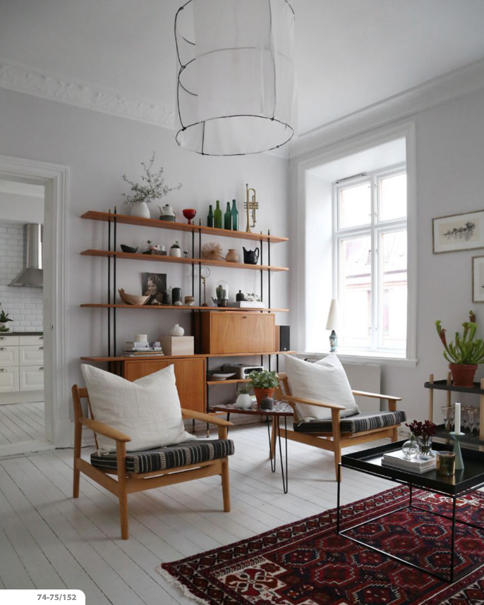 A Sweet Serene Swedish Interior Decorology