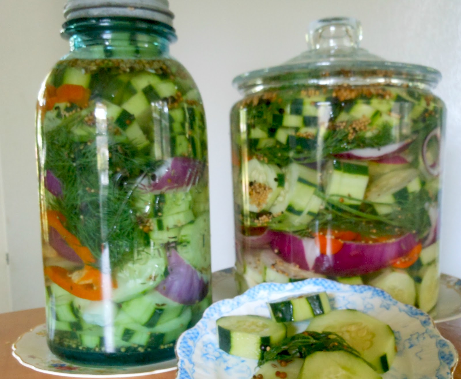 Refrigerator PIckles - A Family Tradition.