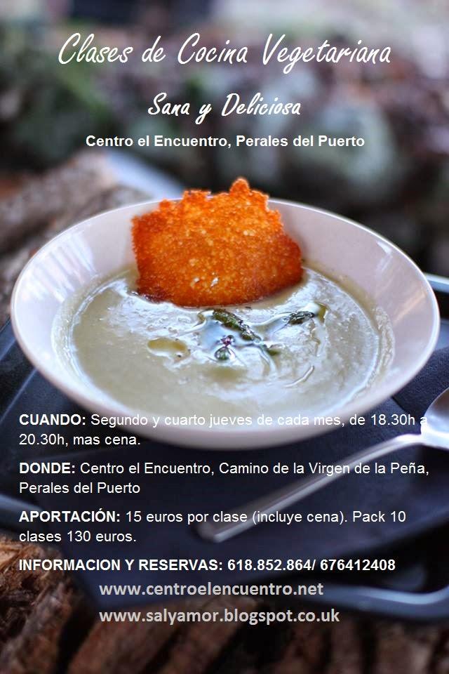 Sal y amor clases de cocina vegetariana centro el - Curso de cocina vegetariana ...