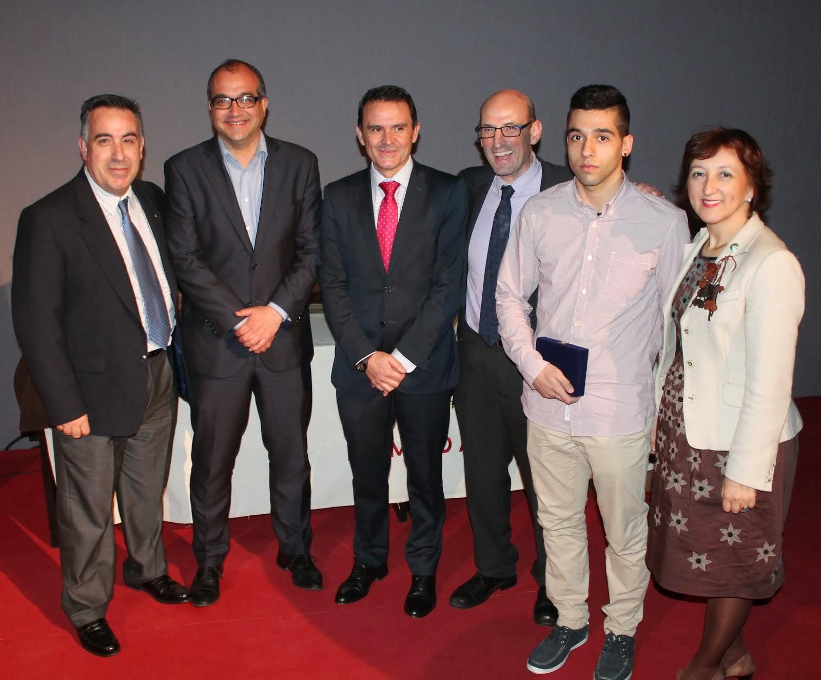 Foto con el Director General de Deportes de Castilla-La Mancha