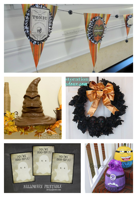 Wednesday Whatsits #79 - Rachel's Faves - Halloween Crafts {i love} my disorganized life