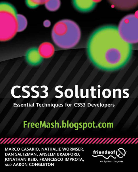 CSS3 Solutions: Essential Techniques for CSS3 Developers PDF Ebook Free Download