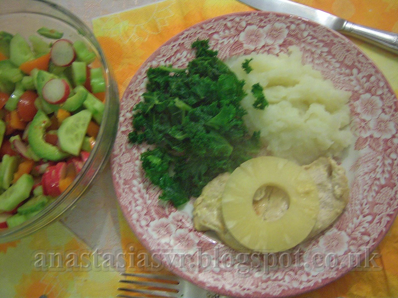 Рецепты из стейков индейки на сковороде рецепт
