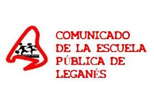PLATAFORMA DE LA ESCUELA PÚBLICA DE LEGANÉS