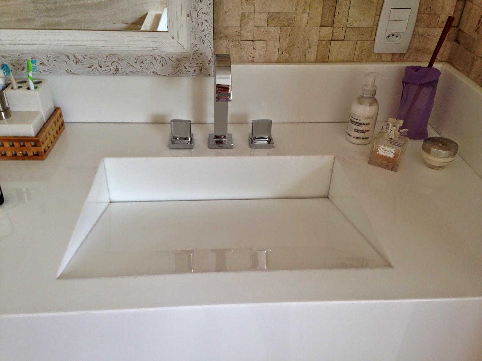 Minha Casa em Vinhedo Fevereiro 2015 -> Pia De Banheiro Em Nanoglass