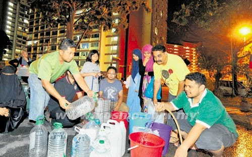 Gambar Sekitar Catuan Air Di Selangor