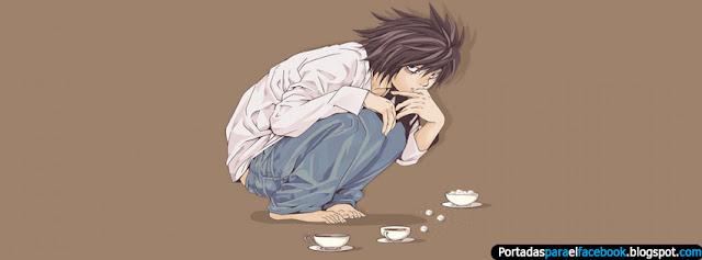 Mas de 10 portadas De  Death Note Para Facebook