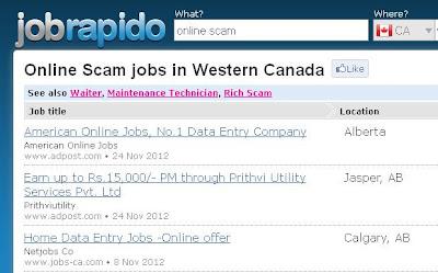 jobrapido.com: online scam?