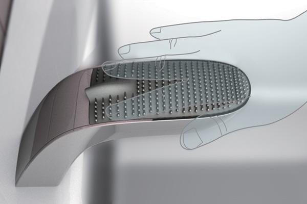 Электронный смеситель-концепт Angel для инвалидов