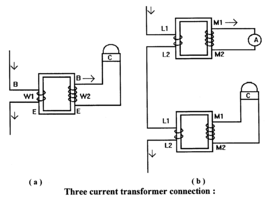 current transformer connection groups