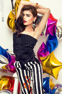 Sadaf Kanwal Photoshoot for Paperazzi 100 Issue