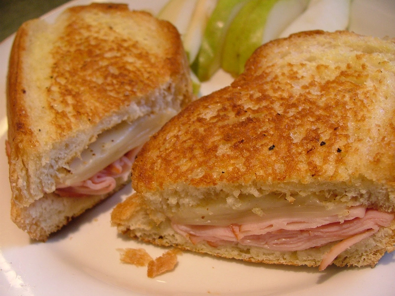 The Cook-a-Palooza Experience: Grilled Ham and Swiss Cheese Sandwich ...
