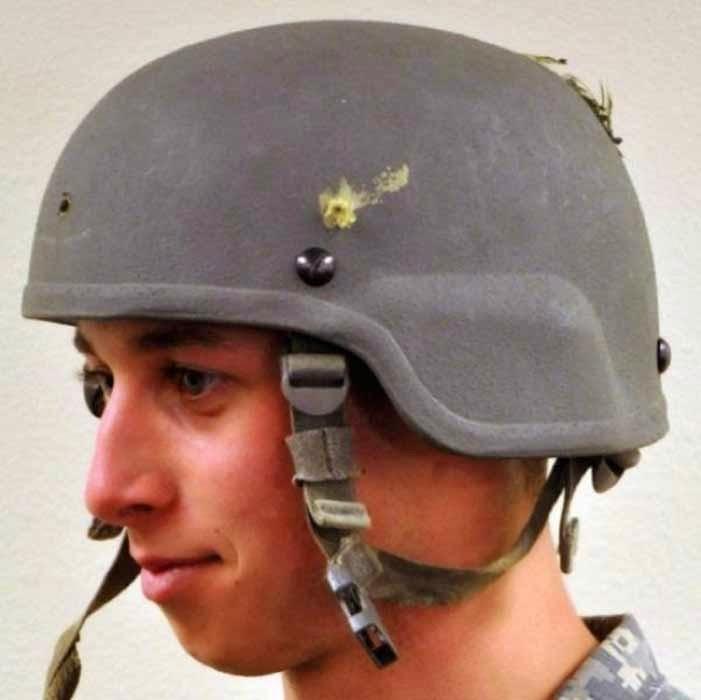 Helmets do save Lives - Proved Photos