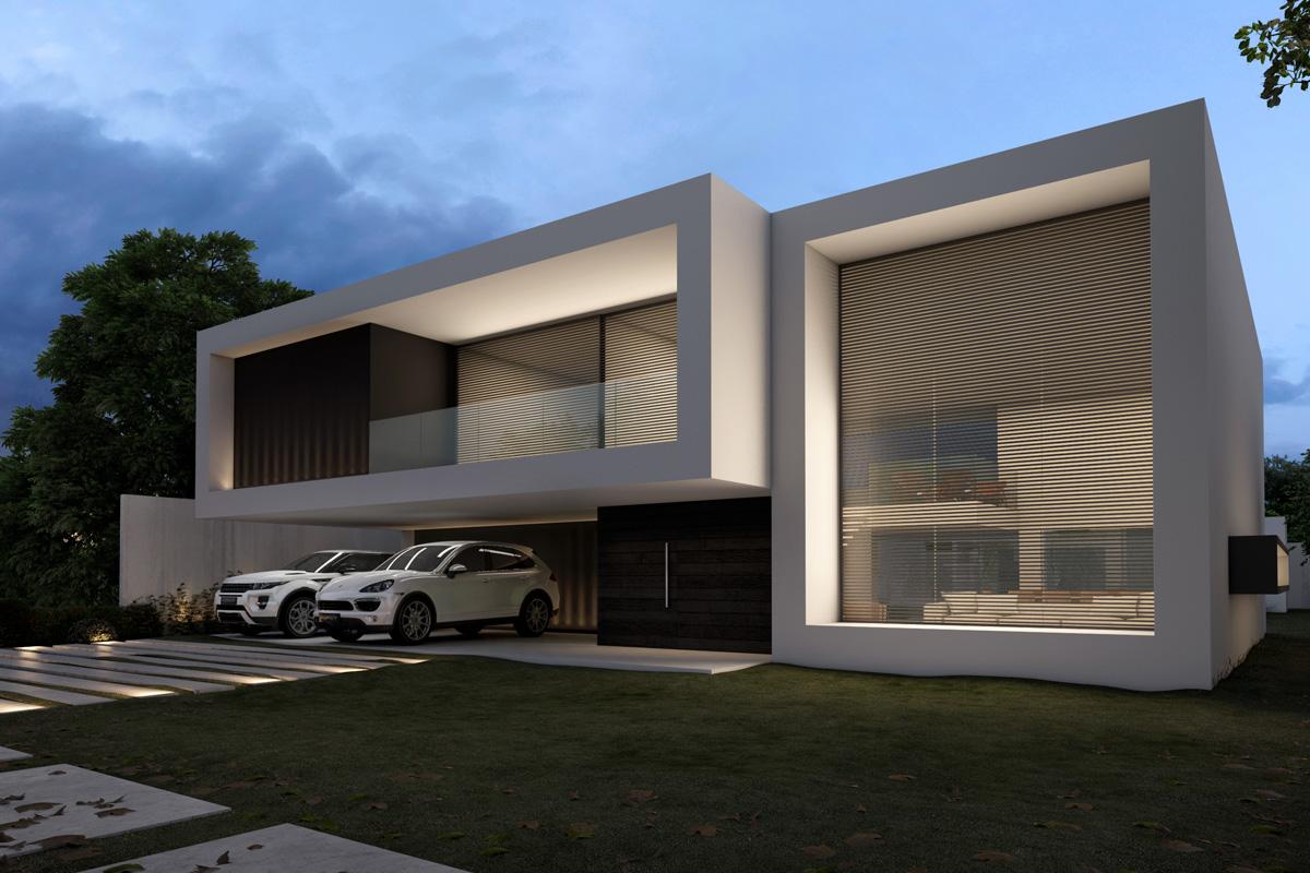 Modelos casas modernas ms de ideas increbles sobre planos for Modelos de fachadas modernas