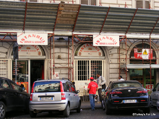 Turkish Food - Istanbul Doner & Kebab, Rome