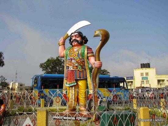 Mahishasura Statue Chamundi Hill